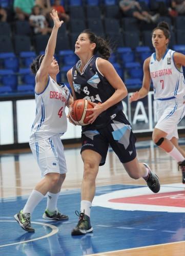 Euro U20 2015_Marica GAJIC (Bosnie-Herzégovine)_FIBA_Sasa MATIC