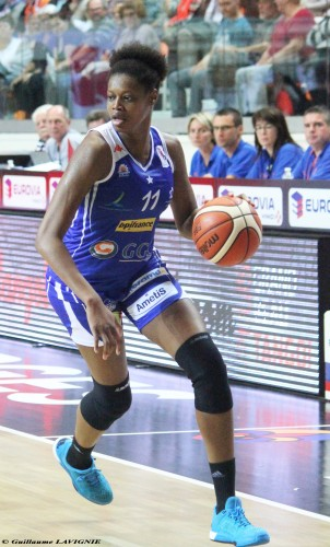 LFB_2015-2016_Valériane AYAYI (Montpellier) @Bourges_Guillaume LAVIGNIE