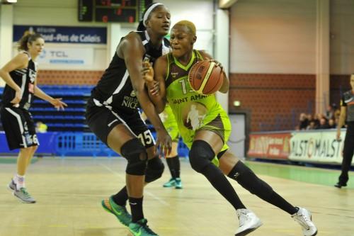 LFB_2015-2016_Pauline AKONGA (Hainaut Basket) vs. Nice 2_Daniel LEMOINE