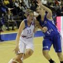 Julie BARENNES (Basket Landes), représentante des joueuses de la Ligue Féminine de Basket