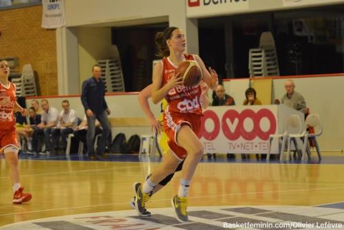Belgique_2015-2016_Antonia DELAERE (Namur) vs. Braine_basketfeminin.com_Olivier LEFEVRE
