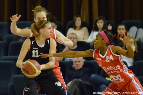 Belgique_2015-2016_Sara LEEMANS (Ste Catherine-Wavre) vs. Namur_basketfeminin.com_Olivier LEFEVRE