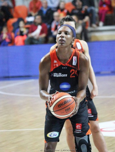 LFB_2015-2016_Eshaya MURPHY (Bourges) vs. Lyon_Guillaume LAVIGNIE