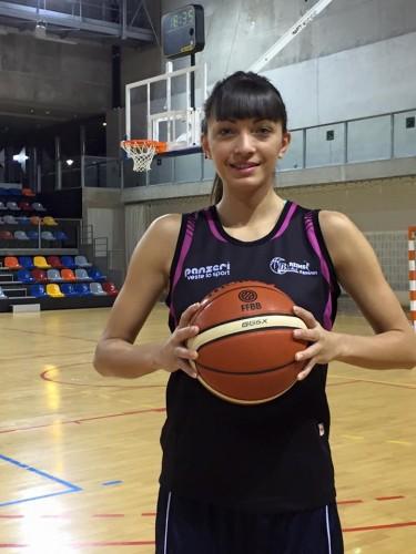 Ligue 2_2015-2016_Ana RADOVIC (Reims)_Reims Basket Féminin