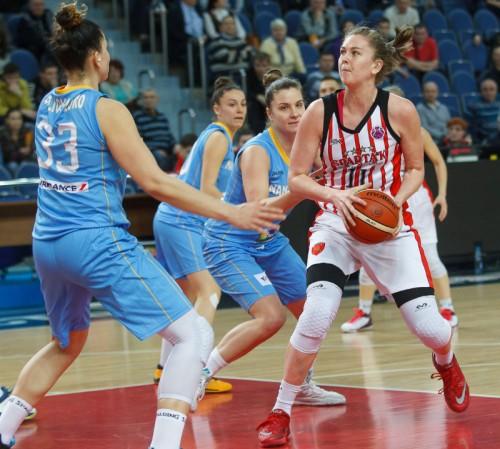 Emma MEESSEMAN FIBA Europe Y. Fedosseeva