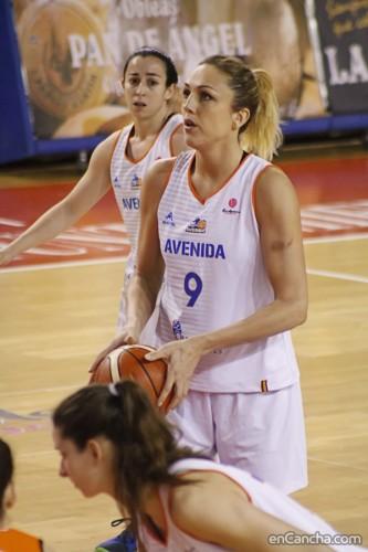 Euroligue_2015-2016_Ewelina KOBRYN (Salamanque)_Alejandro LOPEZ REDONDO