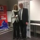 Nicole DE COLO reçoit la Médaille d'Or de la FFBB