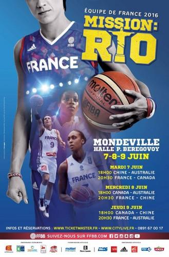 Affiche tournoi de Mondeville 2016