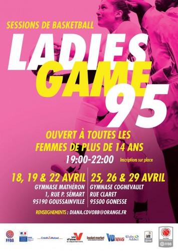 Ladies Game 95 avril 2016