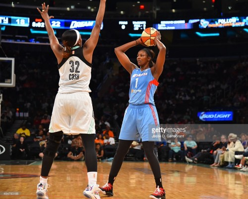 WNBA_2015_DeLisha MILTON-JONES (Atlanta) vs. New York_Jesse D. GARRABRANT_Getty Images