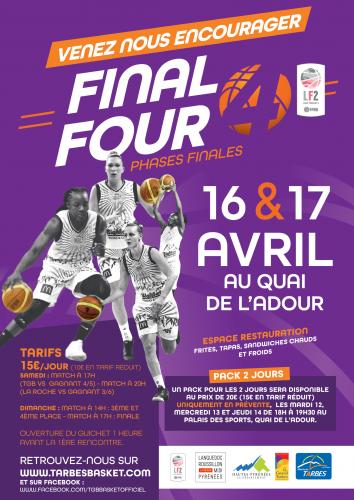 Affiche Final Four Ligue 2 2015-2016