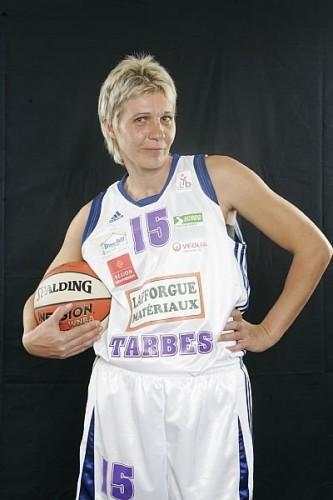 LFB_2009-2010_Polina TZEKOVA (Tarbes)_FFBB