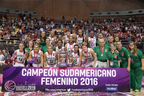 Brésil vainqueur AMSUD 2016 FIBA