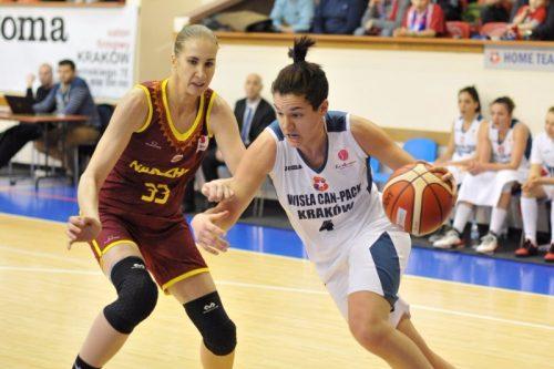 Euroligue_2015-2016_Laura NICHOLLS (Cracovie)_FIBA_Wisla Can Pack
