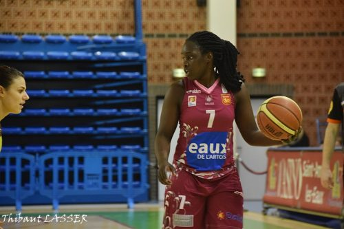 LFB_2015-2016_Elodie MENDY (Arras) @Hainaut Basket_Thibaut LASSER