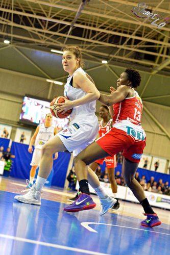LFB_2015-2016_Katia CLANET (Nantes-Rezé) vs. Villeneuve d'Ascq_Laury MAHE