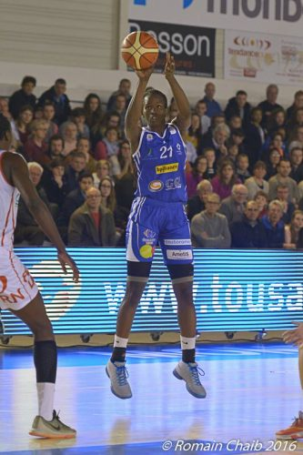 LFB_2015-2016_Mame-Marie SY-DIOP (Montpellier) @Mondeville_Romain CHAIB