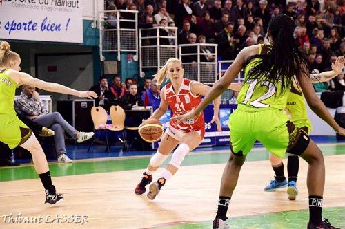LFB_2015-2016_Milica DABOVIC (Lyon) @Hainaut Basket_Thibaut LASSER