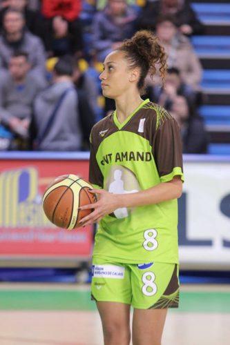 LFB_2015-2016_Ophélie BONNEAU (Hainaut Basket)_Frédéric CAUPAIN