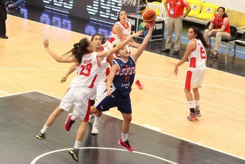 Paraguay-Chili FIBA