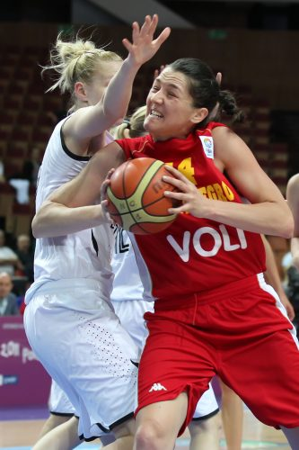 Euro 2011_Natasa POPOVIC (Monténégro)_FIBA Europe_Elio CASTORIA