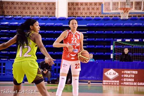 LFB_2015-2016_Latoya WILLIAMS (Lyon) vs. Hainaut Basket 2_Thibaut LASSER