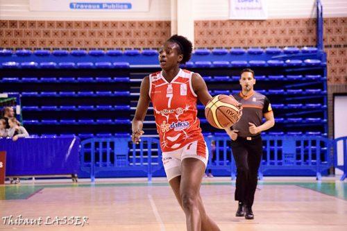 LFB_2015-2016_Mamignan TOURE (Lyon) @Hainaut Basket 1_Thibaut LASSER