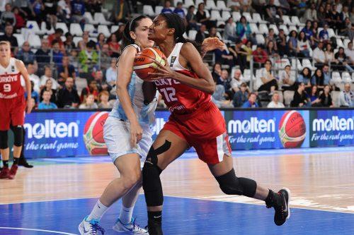 Lara SANDERS FIBA