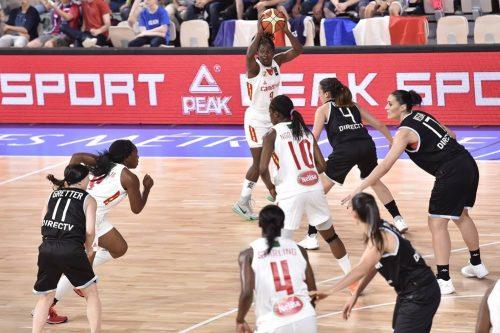 TQO 2016_Ramses LONLACK (Cameroun) vs. Argentine_FIBA