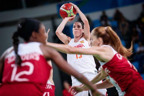 Anna CRUZ au dessus des Turques pour qualifier l'Espagne en demie des JO de Rio