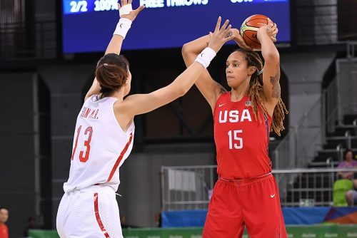 Brittney GRINER face aux chinoises