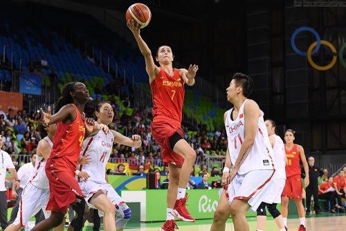 Rio 2016_Alba TORRENS (Espagne) vs. Chine_FIBA