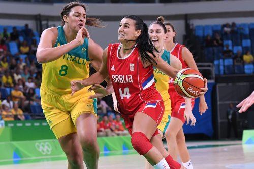 Rio 2016_Ana DABOVIC (Serbie) vs. Australie_FIBA
