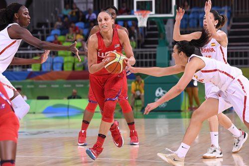 Rio 2016_Diana TAURASI (Etats-Unis) vs. Espagne_FIBA