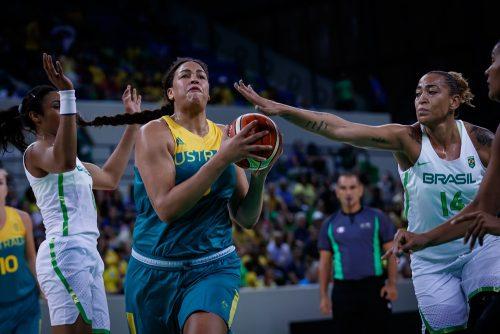 Rio 2016_Elizabeth CAMBAGE (Australie) vs. Brésil_FIBA