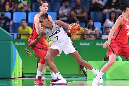 Rio 2016_Sandrine GRUDA (France) vs. Canada_FIBA