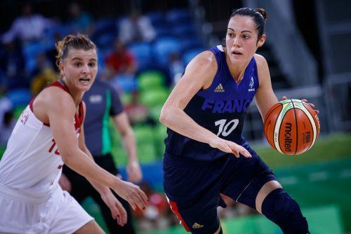 Rio 2016_Sarah MICHEL (France) vs. Turquie_FIBA