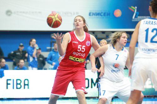 Eurocoupe_2014-2015_Theresa PLAISANCE (Botas)_FIBA Europe_BC Enisey