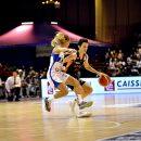 LFB : Le 3 sur 4 à 3 points de Miljana BOJOVIC (Bourges) à Villeneuve d'Ascq