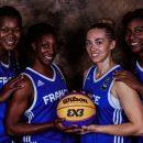 Mondial 3×3 2016 : La remise des maillots aux Françaises