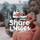 """Offrez vos anciennes chaussures de basket à """"Share your shoes"""""""