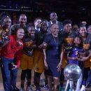 WNBA : La cérémonie de remise des bagues aux Los Angeles Sparks