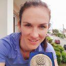 Gabriela KUBATOVA-LESKOVA (La Roche) honorée par le Comité Départemental de Vendée !