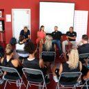 LFB : Tony PARKER et Nicolas BATUM ont rendu visite aux joueuses lyonnaises pour le début de la préparation