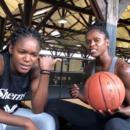 Emilie GOMIS interviewée par Mélissa DIAWAKANA à la Hoops Factory