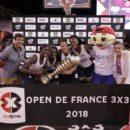 Open de France 3×3 2018 : Las Campeones l'emportent sans surprise