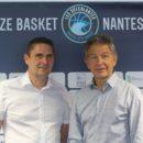 LFB : Conférence de presse pour présenter Jean-Pierre CIGLIA (Nantes-Rezé)