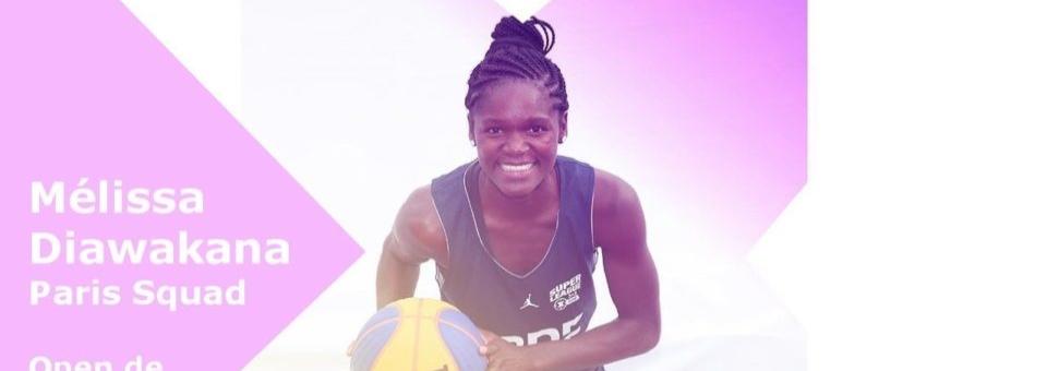 "Mélissa DIAWAKANA ""révélation"" de l'Open de France 3×3 2018"