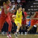 WNBA : Seattle double la mise et se rapproche d'un troisième titre
