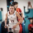 Mondial 2018 : Anete STEINBERGA (Lettonie), 16 points et 11 rebonds face à la Chine